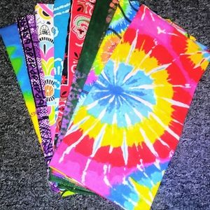 8 Unique and colorful Bandannas